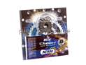 Kit chaine Acier RUB YAMAHA XJ 6 SA ABS 2009-2015 Renforcé Xs-ring